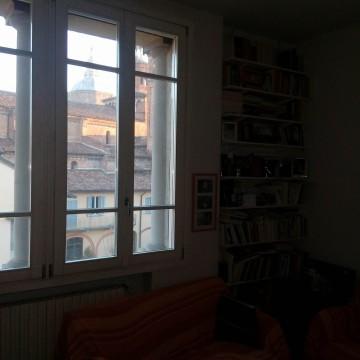 una finestra della casa di Andrea De Alberti