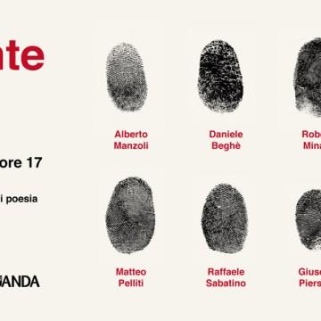 Copertina Impronte - Parma 17 febbraio 2018