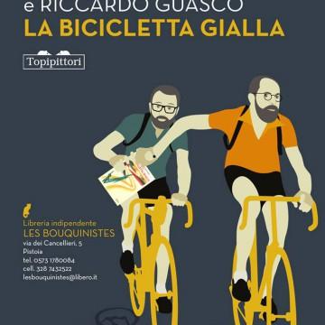 la bicicletta gialla per Enrico Anzuini